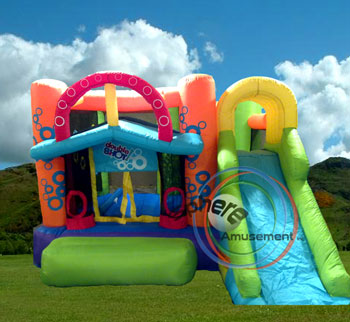 crazy land inflatable structure / crazy land structure gonflable